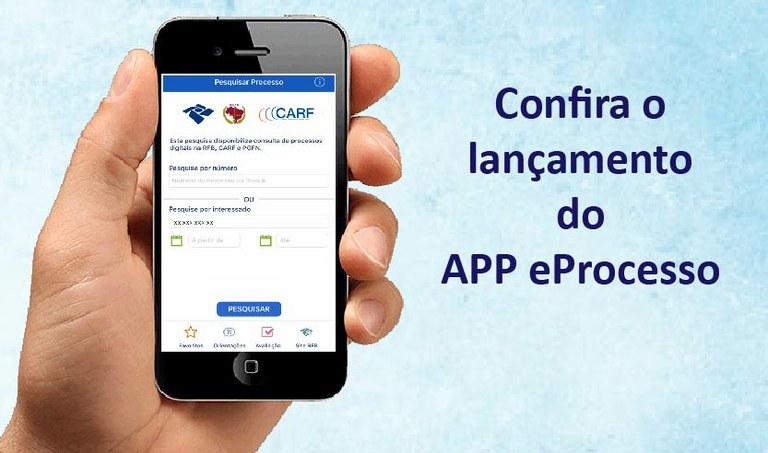Aplicativo permite que usuários acessem informações de processos digitais